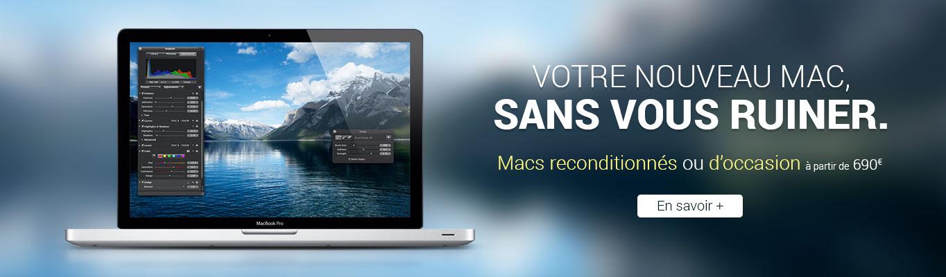 Mac reconditionnés ou occasion