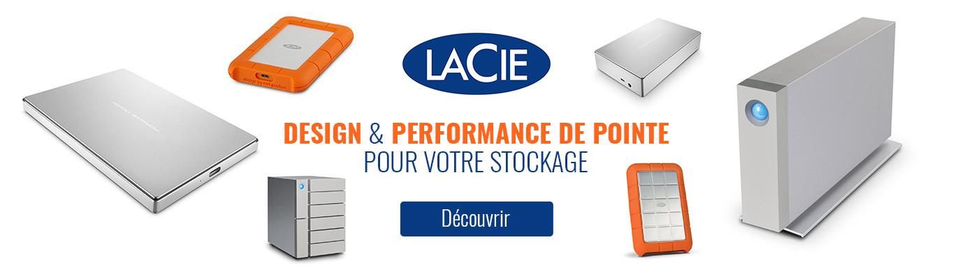 Stockage LaCie