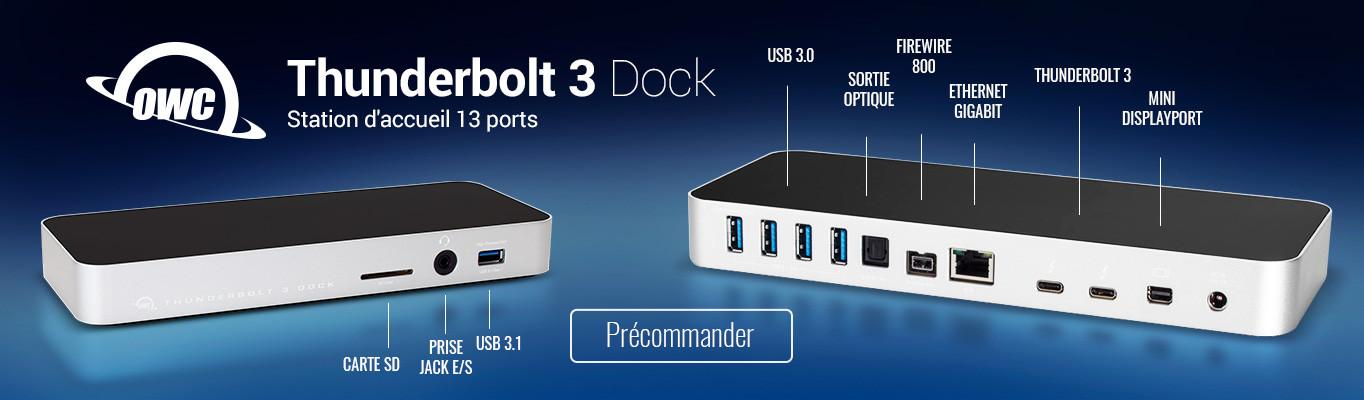 OWC Thunderbolt 3 Dock