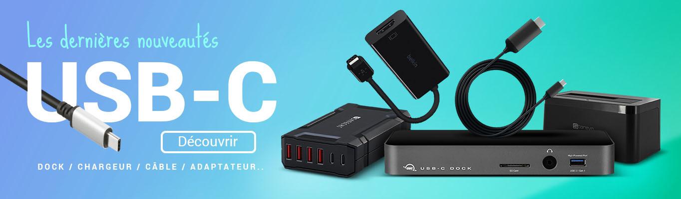 Nouveautés USB-C