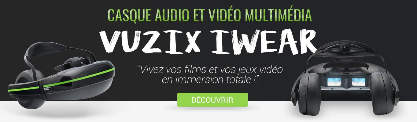 Casque Vuzix iWear