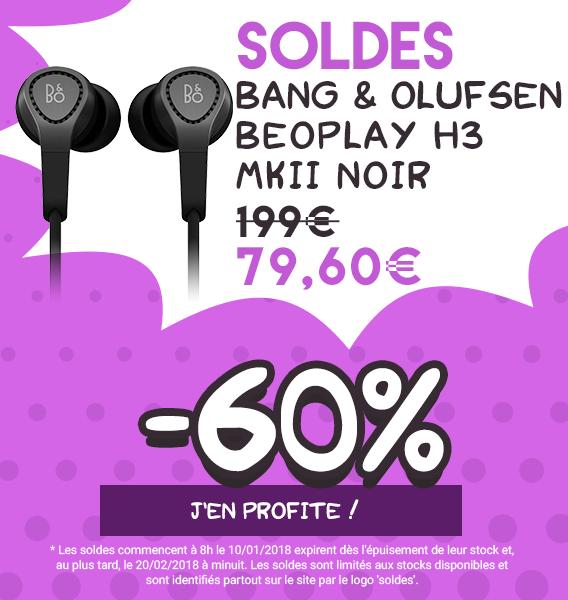 Bang & Olufsen BeoPlay H3 MKII Noir