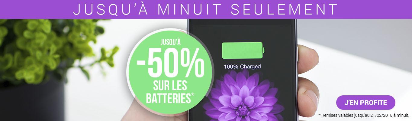 Promo batteries