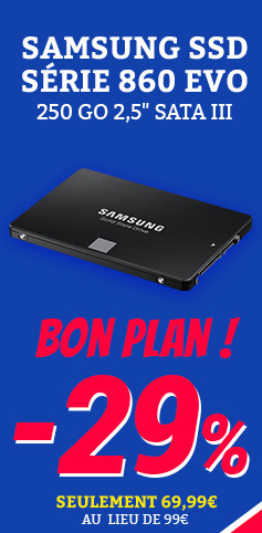 ssd samsung french days menu