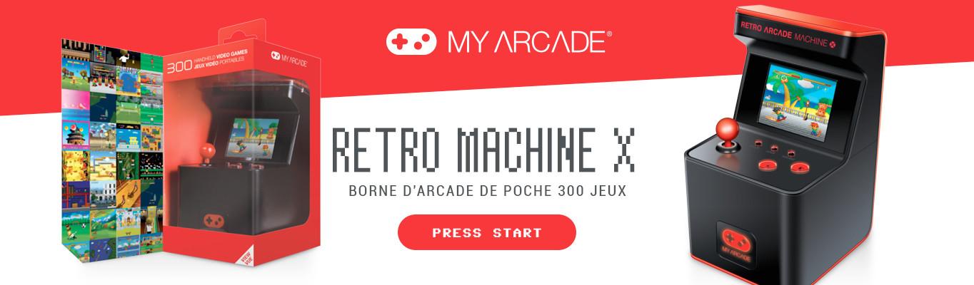 retro machine x