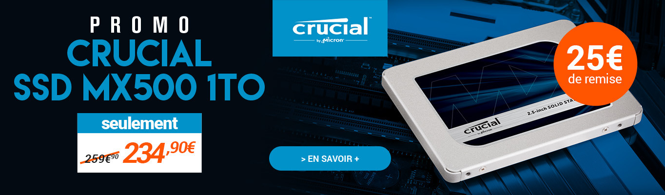 MX500 crucial promo 1To