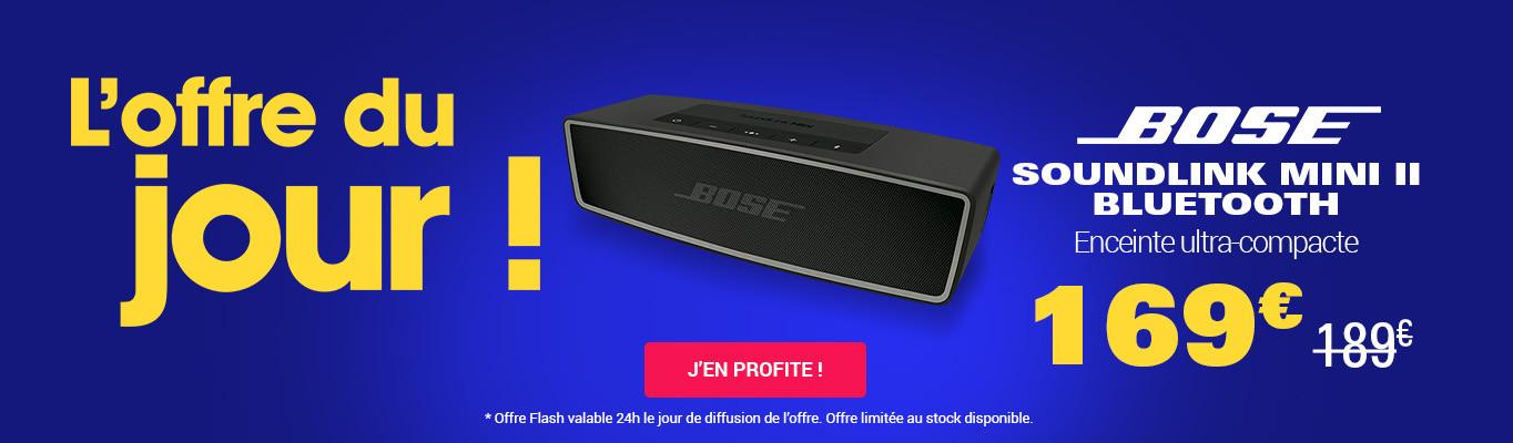 Offre flash Bose