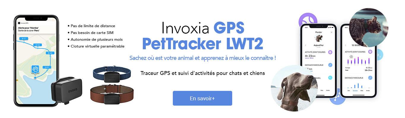 Invoxia GPS PetTracker LWT2