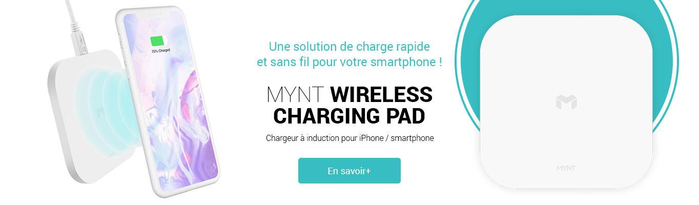 Mynt wireless charging pad