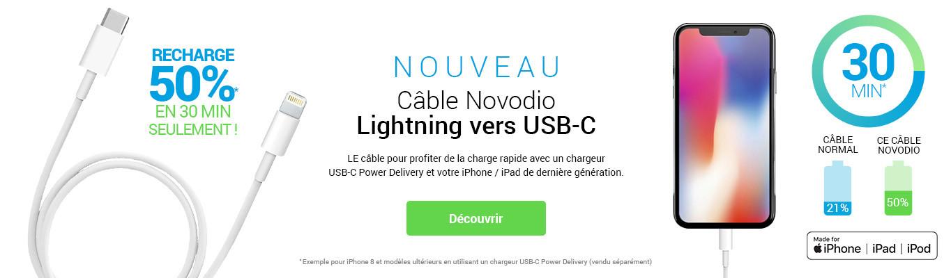 Cable novodio USB PD