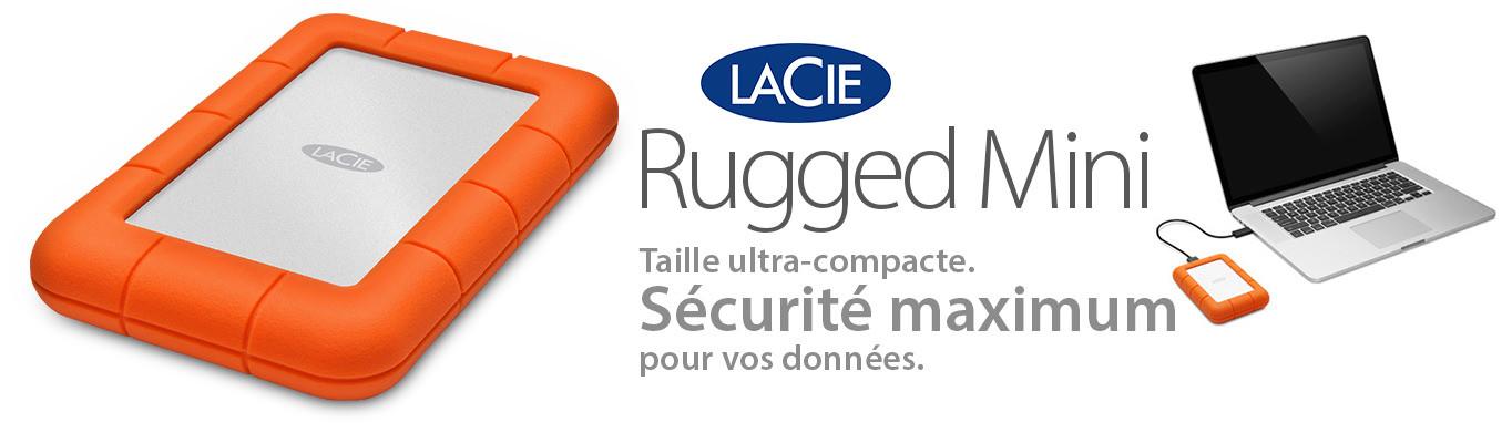 LACIE Rugged mini