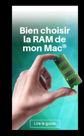 Choisir la RAM de mon MAC