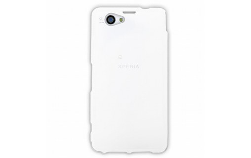 Aperçu 0: Mocca coque gel frost blanche pour Sony Xperia Z1 S