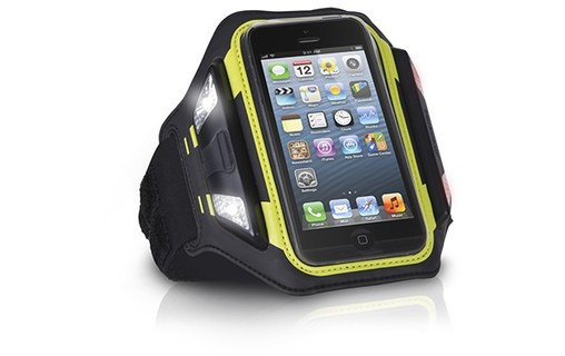 Aperçu 0: XTREMEMAC SPORTWRAP LED Brassard avec avec led iPhone 5/5S et ipod touch