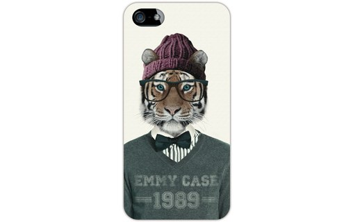 Aperçu 0: Coque rigide fashion tigre pour iPhone 5 / 5S