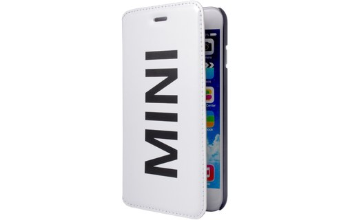 Aperçu 0: Mini Etui Folio Vinyl Blanc Apple Iphone 6+/6s+**