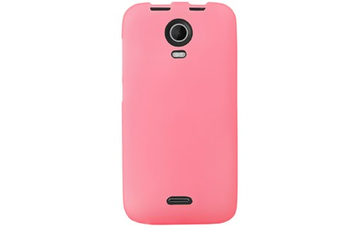 Aperçu 0: Mocca coque gel frost rose pour Wiko Darkmoon