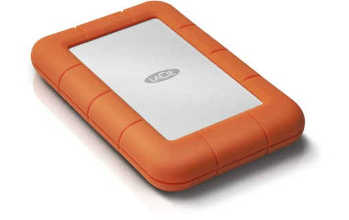 "Aperçu 1: LaCie Rugged Mini 4 To - Disque dur externe 2,5"" USB 3.0"