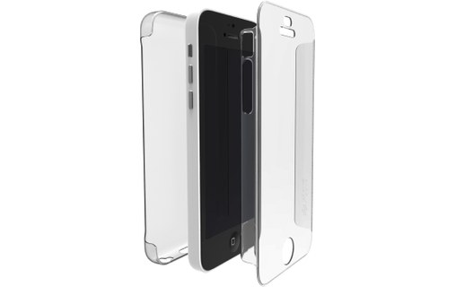 Aperçu 0: Xdoria Coque Protection Defense 360° Transparente Apple Iphone 5c