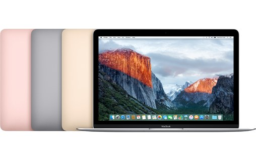 "Aperçu 6: MacBook 12"" Or Rose Retina Core m5 bicoeur 1,2 GHz 8 Go 512 Go"