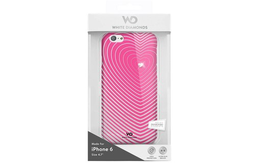 Aperçu 1: Coque iPhone 6 White Diamonds rose