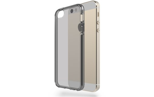 Aperçu 0: Coque iPhone 5 / 5S Azorm Crystal Edition Noir Transparente souple