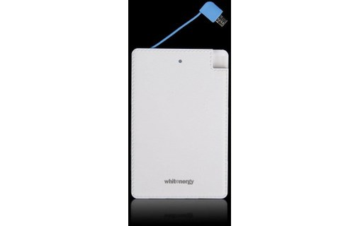 Aperçu 3: Whitenergy Power Bank 2500mAh Li-Ion 1A Blanc