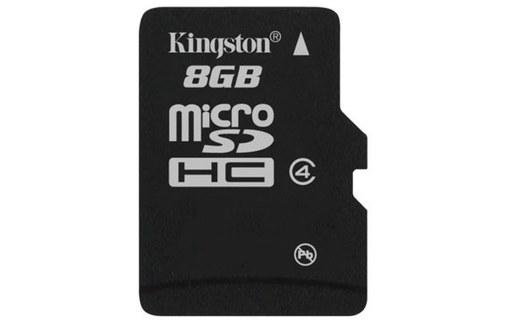 Aperçu 6: Kingston Technology 8GB microSDHC 8Go MicroSD Flash mémoire flash