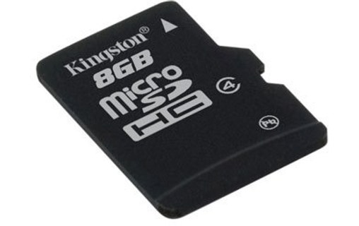 Aperçu 1: Kingston Technology 8GB microSDHC 8Go MicroSD Flash mémoire flash