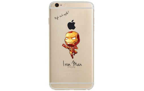 Aperçu 0: Coque Silicone IPHONE 6/6S Iron Man Avengers Marvel APPLE Cartoon Disney Protection G