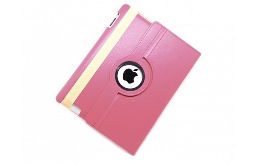 Aperçu 0: Housse de Protection / Coque Rotation 360� Interieur Beige IPAD Mini 2 Simili-Cuir APPLE - ROSE PALE