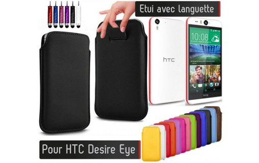 Aperçu 0: Etui Pull up HTC Desire Eye - LILAS