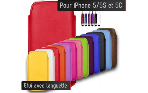 Aperçu 0: Etui Pull up Iphone 5/5S - JAUNE