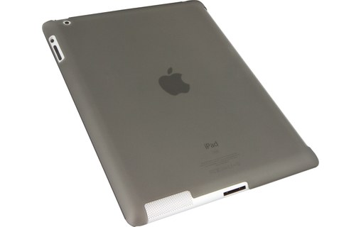 Aperçu 0: Novodio Smart BackCover Frost Black - Coque pour iPad 2 compatible Smart Cover
