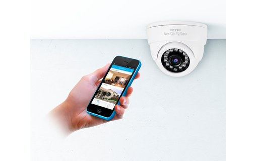 Aperçu 3: Pack Surveillance In & Out Novodio - SmartCam HD Outdoor + HD Dome