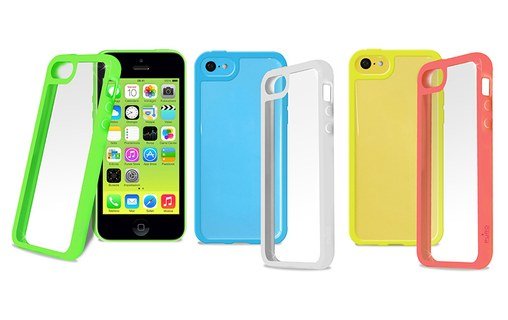 Aperçu 2: Puro Clear Cover Jaune - Coque de protection pour iPhone 5c