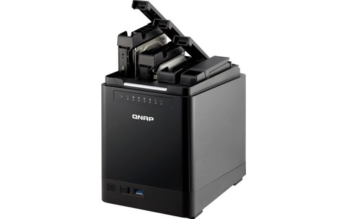 Aperçu 3: QNAP Turbo Station TS-453 mini 2G - Serveur NAS 24 To Enterprise