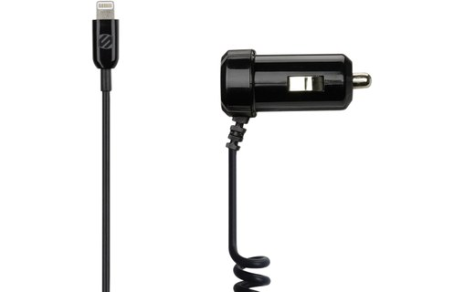 Aperçu 0: Scosche strikeDRIVE 12W Noir - Chargeur allume-cigare Lightning iPhone/iPad/iPod