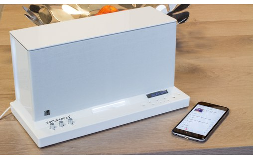 Aperçu 4: Soundfreaq Sound Platform Ghost - Station d'accueil Bluetooth avec dock Apple
