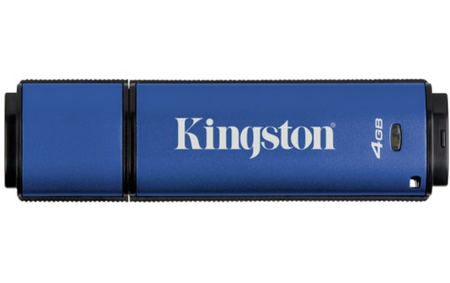 Aperçu 3: Kingston Technology DataTraveler Vault Privacy 3.0 4GB 4Go USB 3.0 Bleu lecteur