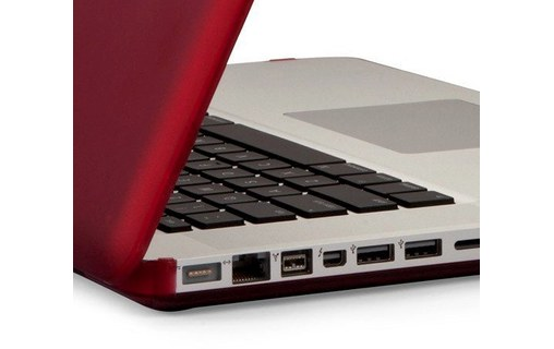 Aperçu 2: Speck SeeThru Satin Rouge - Coque de protection pour MacBook Pro 13""