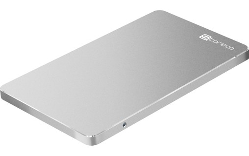 "Aperçu 0: Storeva Arrow Type C USB 3.1 Silver 2,5"" + SSD Samsung 850 Evo 1 To"