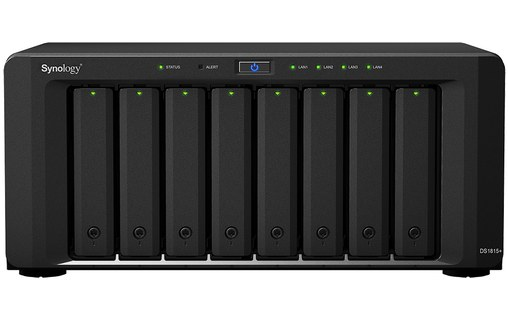 Aperçu 2: Synology DiskStation DS1815+ 48 To - disques serveurs