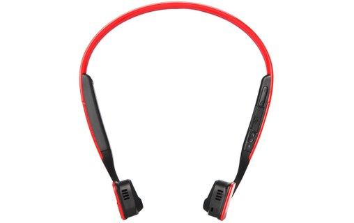 Aperçu 2: AfterShokz Bluez 2S Rouge - Casque Bluetooth par vibration osseuse