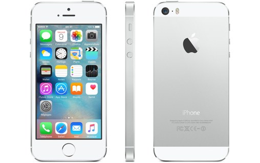 Aperçu 0: Apple iPhone 5S 64 Go Argent
