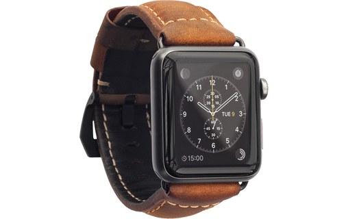 nomad leather strap traditional marron noir bracelet cuir apple watch 42 mm bracelet apple. Black Bedroom Furniture Sets. Home Design Ideas