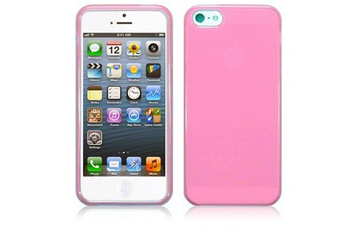 Aperçu 0: Housse Softygel rose glossy iPhone 5