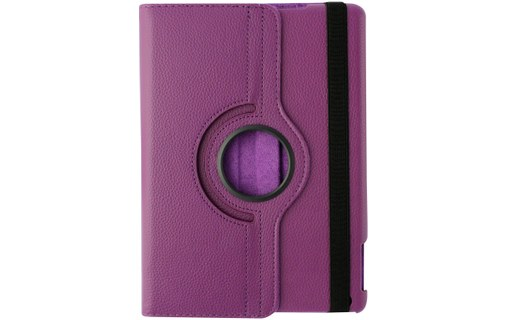 "Aperçu 3: Etui + 3 Films APPLE IPAD AIR ""Rotatif"" Violet"