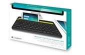 Achat LOGITECH clavier AZERTY bluetooth multidevice K480 Noir