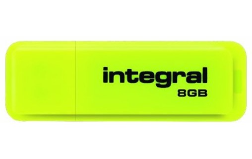 Aperçu 0: INTEGRAL 16GB NEON USB FLASH DRIVE - YELLOW